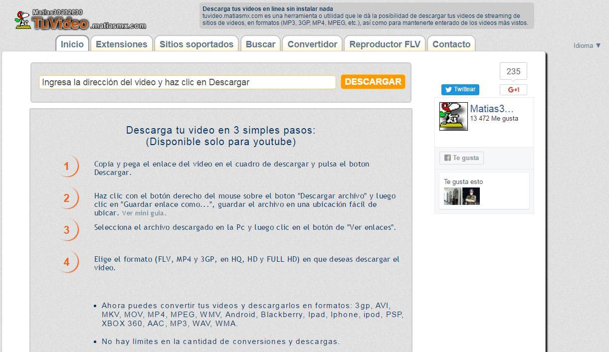 TuVideo-Screen